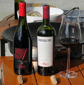 Allegrinin viinit Belpasso ja Palazzo della Torre
