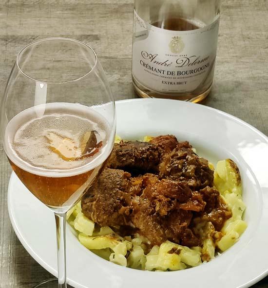 Andre Delorme Crémant de Bourgogne Rosé Extra Brut