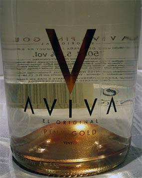 Aviva Pink Gold - aromatisoitu kuohuviini