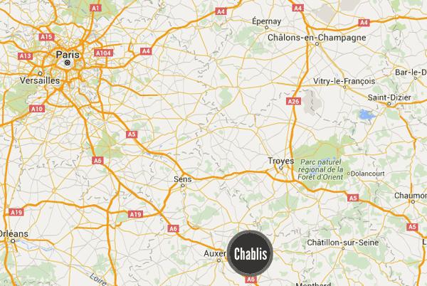 Chablis Ranskassa