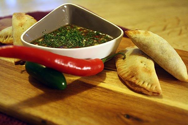 Empanadoja ja pebreä