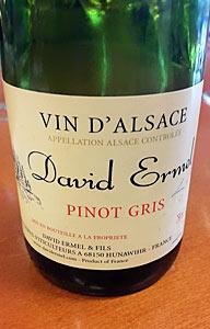 David Ermelin Pinot Gris
