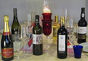 Englantilainen joulu - ruoka ja viinit