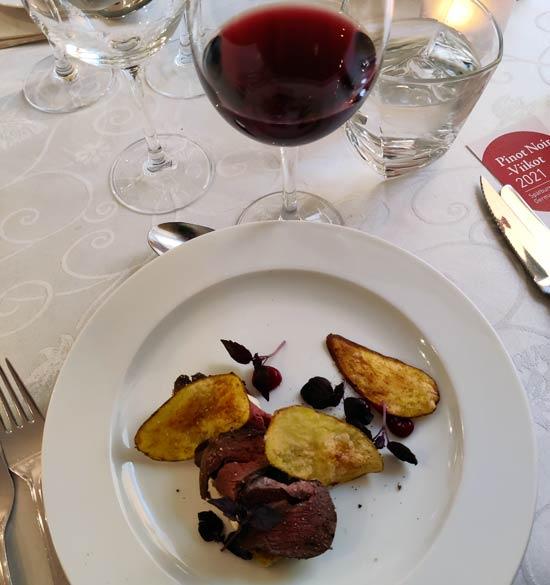 Henriksin Pinot Noir -viikon menu - alkuruoka