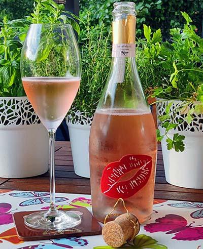 Ivana Helsinki Kiss Prosecco Rosé Extra Dry