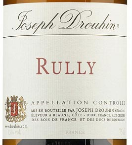 Burgundin valkoviinit, Joseph Drouhin Rully