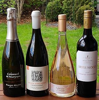 Juhannuksen 4 viiniä