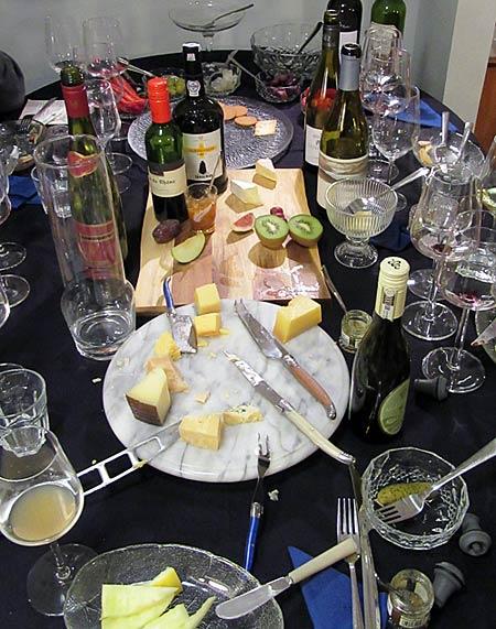 Juustopöytä jälkeenpäin