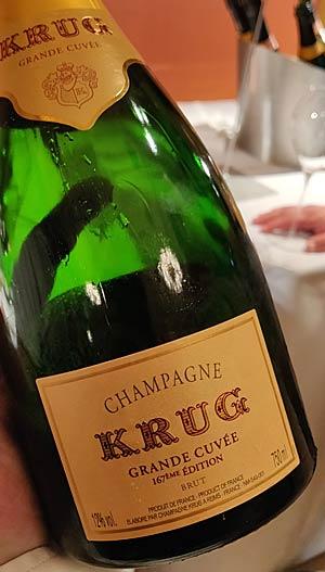 Krug Grande Cuvée 167ème Édition Champagne Brut