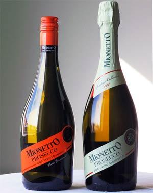 Mionetto Proseccot - Biologico ja Frizzante