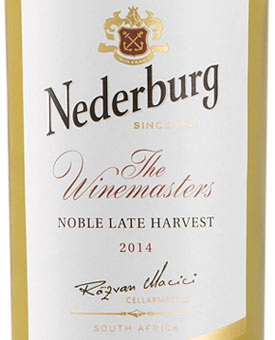 Nederburg late harvest -viini