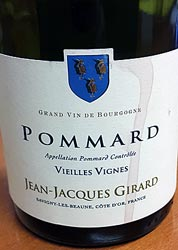 Pommard 2010, Jean-Jacques Girard