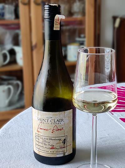 Saint Clair Pioneer Block Sawcut Chardonnay