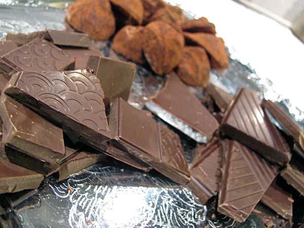 Suklaan kanssa maistuu portviini