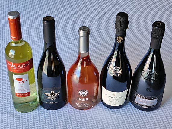 Tapas ja meze viinit
