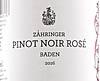 Zähringer Pinot Noir Rosé