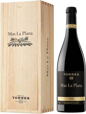 Torres Mas La Plana lahjapakkauksessa