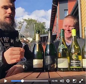 Jens ja Janne vappuvideolla