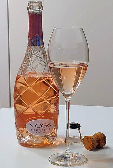 Voga Prosecco Rose Extra Dry