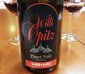 Willi Opitz Pinot Noir Reserve