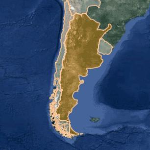 [kartta: Argentiina]