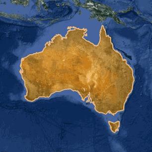 [kartta: Australia]
