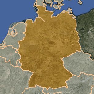 [kartta: Saksa]