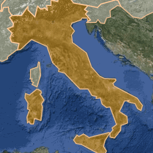 [kartta: Italia]