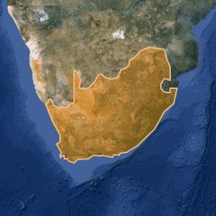 [kartta: Etelä-Afrikka]