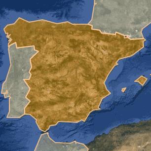 [kartta: Espanja]