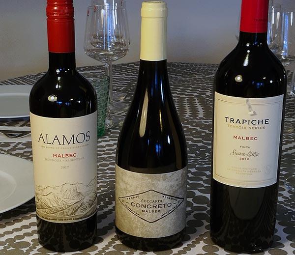 Argentiina viinejä