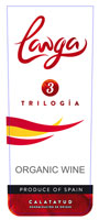 [kuva: 2.10.2013. Langa Trilogia is changing its label in its fifth year in Alko.]