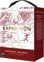 [kuva: Expedition Bonarda Malbec 2020 hanapakkaus]