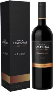 [kuva: Finca Las Moras Black Label Malbec 2015 lahjapakkaus(© Alko)]