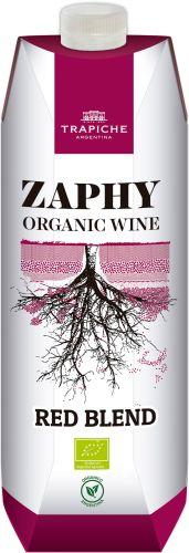 [kuva: Trapiche Zaphy Organic red blend 2017 kartonkitölkki(© Alko)]