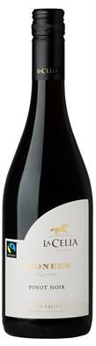 [kuva: La Celia Pioneer Reserve Pinot Noir 2014(© Alko)]