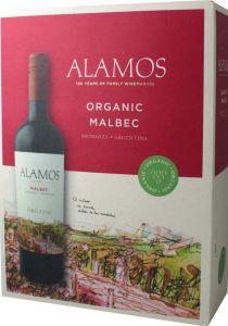 [kuva: Alamos Malbec Organic hanapakkaus(© Alko)]