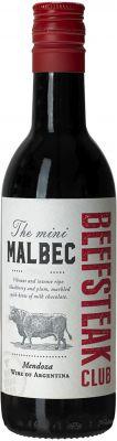 [kuva: Beefsteak Club The Mini Malbec 2019(© Alko)]