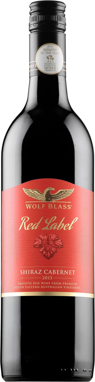 It is an image of Fan Wolf Blass Red Label Shiraz 2020