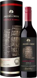 [kuva: Jacob's Creek Double Barrel Shiraz 5th vintage 2015 lahjapakkaus]