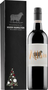 Hugh Hamilton The Villain Cabernet Sauvignon 2016 lahjapakkaus