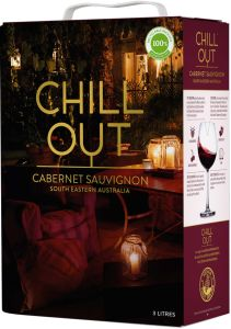 [kuva: Chill Out Cabernet Sauvignon Australia 2020 hanapakkaus(© Alko)]