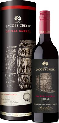 Jacob's Creek Double Barrel Shiraz 5th vintage 2015 lahjapakkaus