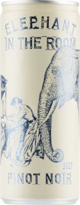 [kuva: Elephant in the Room Pinot Noir tölkki(© Alko)]