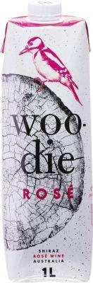 [kuva: Woodie Rosé 2020 kartonkitölkki(© Alko)]