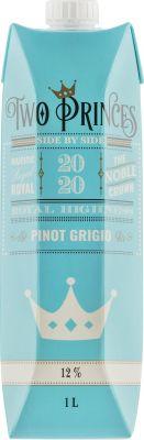 [kuva: Two Princes Pinot Grigio 2020 kartonkitölkki(© Alko)]