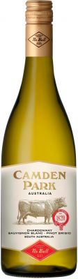 [kuva: Camden Park Chardonnay Sauvignon Blanc Pinot Grigio 2018(© Alko)]