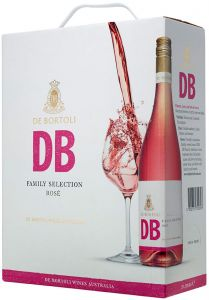 [kuva: De Bortoli DB Selection Rosé 2017 hanapakkaus(© Alko)]