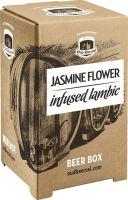 [kuva: Oud Beersel Jasmine Flower Infused Lambic hanapakkaus]