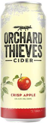 [kuva: Orchard Thieves Crisp Apple Cider tölkki(© Alko)]
